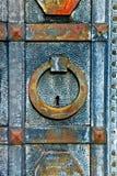 Puerta oxidada Imagen de archivo libre de regalías