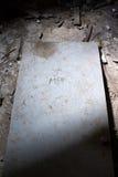 Puerta para hombre del cuarto de baño Fotografía de archivo