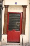 Puerta parisiense Imagenes de archivo