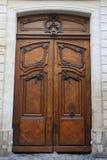 Puerta parisiense Fotografía de archivo