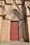 Puerta perfecta de la iglesia Imágenes de archivo libres de regalías