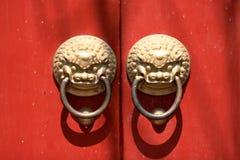 Puerta pesada Imagen de archivo libre de regalías