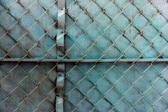 Puerta pintada Imagenes de archivo