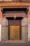 Puerta pródigo adornada marrakesh marruecos Imágenes de archivo libres de regalías
