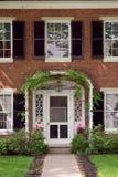 Puerta principal Fotos de archivo libres de regalías