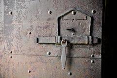 Puerta principal de la abadía de San Miguel Fotos de archivo libres de regalías