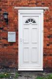 Puerta principal de la casa Imagen de archivo