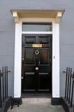 Puerta principal de la casa Fotos de archivo