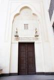 Puerta principal de la mezquita Foto de archivo libre de regalías