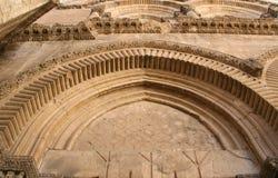 Puerta principal de Santo Sepulcro Imagenes de archivo