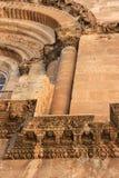 Puerta principal de Santo Sepulcro Fotografía de archivo
