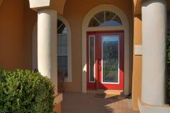 Puerta principal de Stainglass Fotos de archivo
