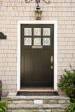 Puerta principal de un hogar Imagen de archivo