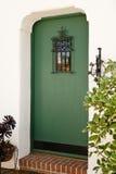 Puerta principal del aHome Fotografía de archivo libre de regalías