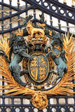 Puerta principal del Buckingham Palace, Londres imagen de archivo libre de regalías