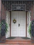 Puerta principal del otoño Imagen de archivo libre de regalías