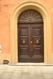 Puerta principal elegante Fotografía de archivo libre de regalías