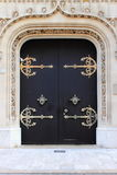 Puerta principal gótica Imágenes de archivo libres de regalías