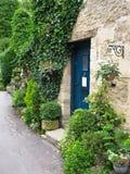 Puerta principal inglesa del estilo Imagen de archivo libre de regalías