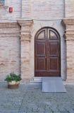Puerta principal italiana Imagenes de archivo