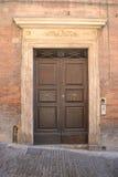 Puerta principal italiana Fotos de archivo