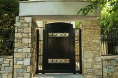 Puerta principal a la casa Fotos de archivo libres de regalías