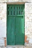Puerta principal sucia Imagen de archivo libre de regalías
