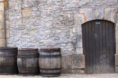 Puerta privada Fotos de archivo