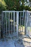 Puerta que se besa tradicional, Irlanda Fotos de archivo