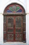 Puerta árabe en un estilo tradicional Fotografía de archivo