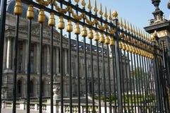 Puerta real imagenes de archivo