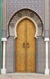 Puerta real foto de archivo