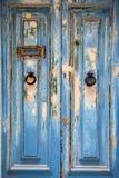 Puerta resistida Fotografía de archivo libre de regalías