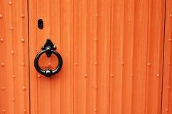 Puerta roja Fotos de archivo