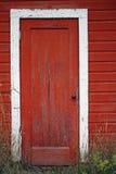 Puerta roja Imagen de archivo
