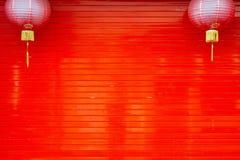Puerta roja del balanceo Imagenes de archivo