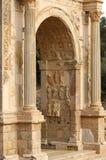Puerta romana Foto de archivo libre de regalías