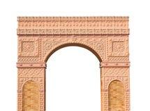 puerta romana de las columnas aislada Foto de archivo