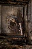 Puerta santa antigua Fotografía de archivo