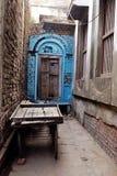 Puerta sin salida la India del callejón Foto de archivo