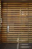 Puerta Slated de la fuente Fotos de archivo libres de regalías