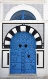 Puerta típica Fotos de archivo libres de regalías