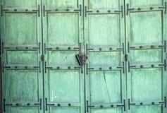 Puerta tradicional coreana Imágenes de archivo libres de regalías
