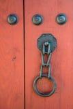 Puerta tradicional coreana Fotografía de archivo libre de regalías