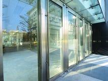 Puerta transparente imagen de archivo libre de regalías