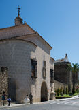 Puerta of Trujillo in Plasencia, Spain. Royalty Free Stock Photography