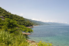 Puerta Vallarta coastline Royalty Free Stock Images