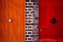 Puerta vecina Imagen de archivo