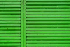 Puerta del obturador del rodillo Foto de archivo libre de regalías