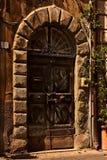 Puerta vieja. fotografía de archivo